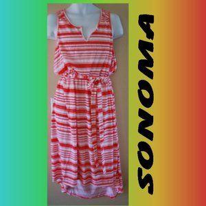 LADIES HIGH-LOW SONOMA SUMMER DRESS